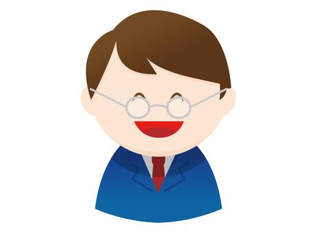 A glassesman's office worker