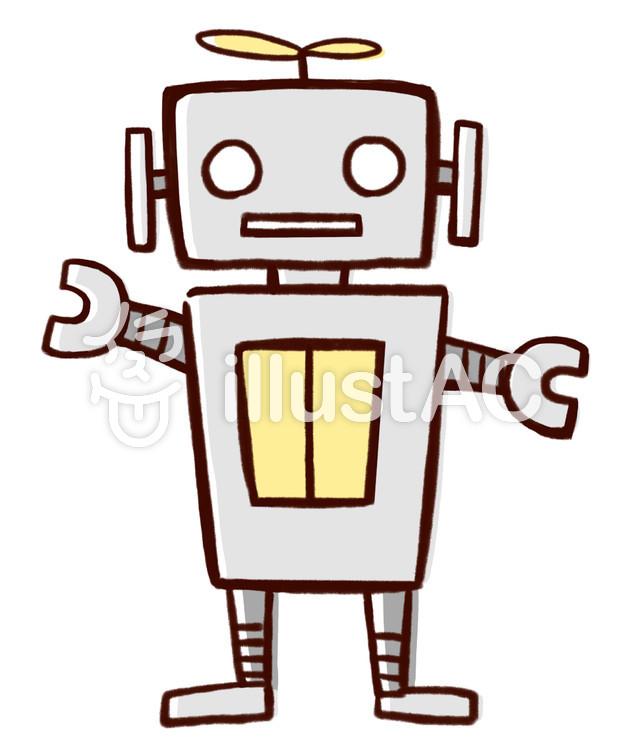 ロボットイラスト No 794238無料イラストならイラストac
