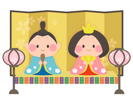 Simple Hina dolls 2