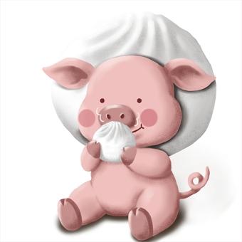 豬bun頭和豬