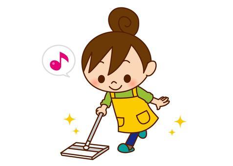 Women cleaning - Wiper