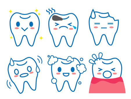 Various tooth problems