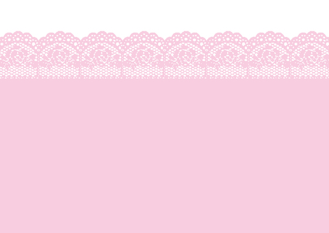 Frill background Pink