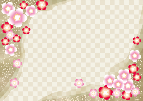 New Year's Pattern Ume 25
