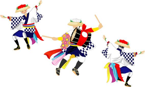伝統さんさ踊り