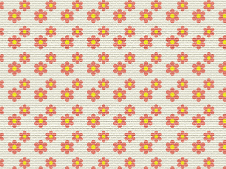 Paper-style cute flower material
