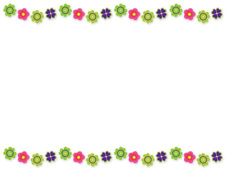 Background - four leaf clover 04
