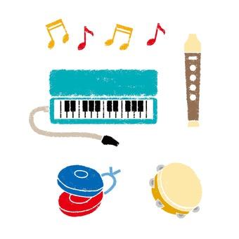 School music instrument color