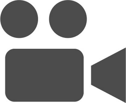 비디오 카메라 아이콘 소재