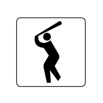 Guide map Baseball field