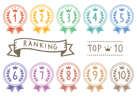 Ranking Top 10_ Hand-drawn