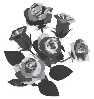 Rose monochrome