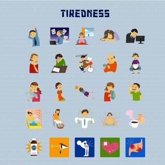 Illustration of fatigue