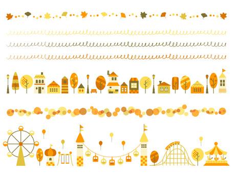 秋のラインセット