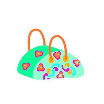 Handbag · flower pattern