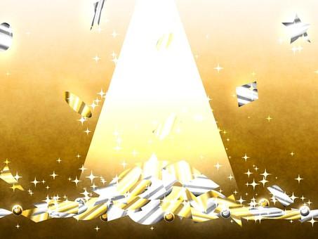 금색과 은색 배경 1