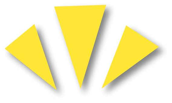 Yellow accent mark