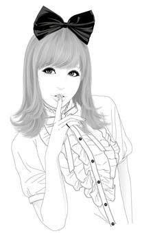 女性插圖55