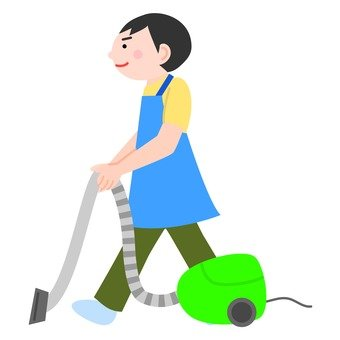 Male sweeping machine