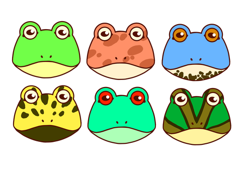 6 types of frogs