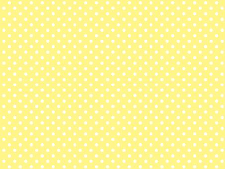 노란색 물방울 무늬 견본