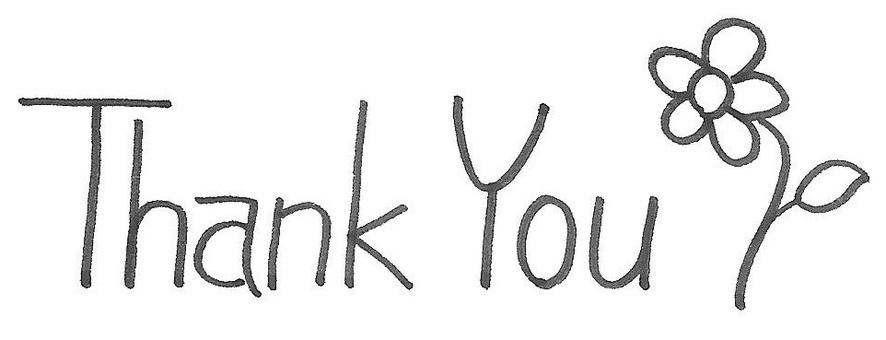 Thank You Thank You Logo Flower