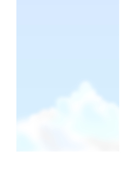 Tunnel cloud vertical postcard