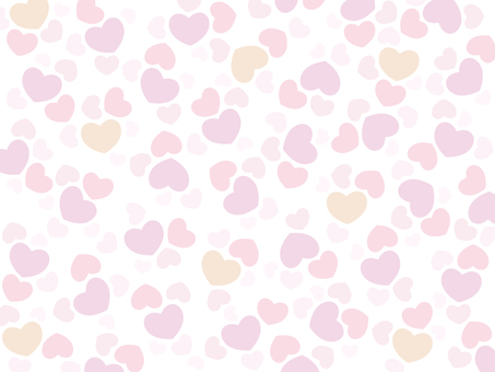 Heart pattern background pattern