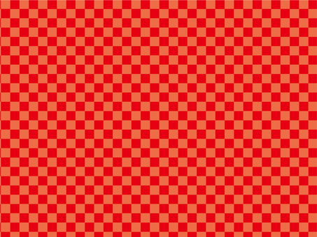 Checkered pattern red