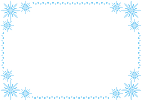 Frame - Hanabi - Blue
