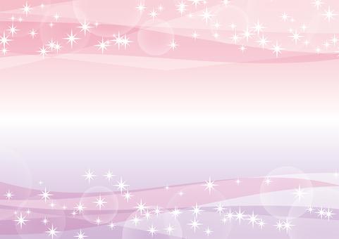 핑크와 보라색 그라데이션 반짝