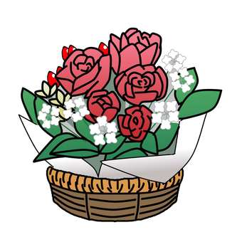 Bouquet of roses / gift