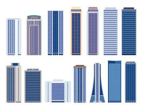 Building, skyscraper, illustration