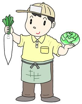 A greengrocer
