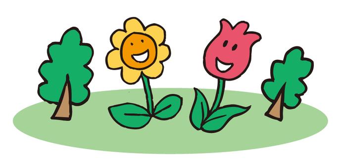 Flower environment