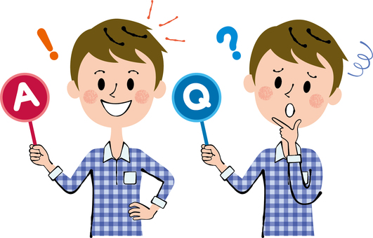 Q&A private service male upper body