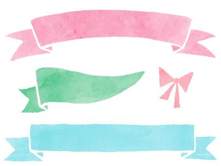 Ribbon_1 (watercolor)