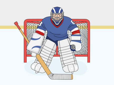 Ice Hockey 1 (Goalkeeper)