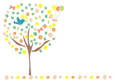 快乐的树框架
