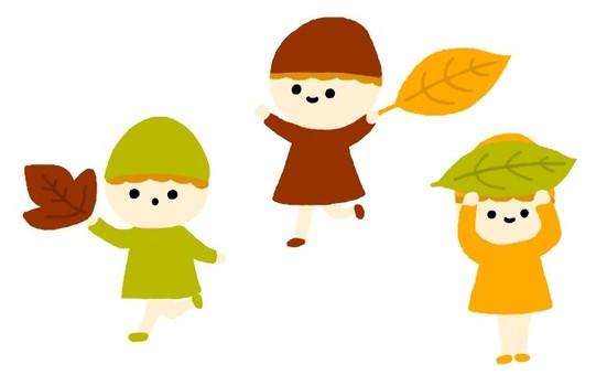 낙엽의 요정