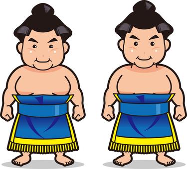 Sumo wrestler · 4 (makeup scroll)