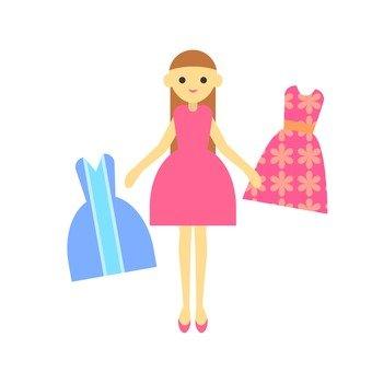Dress up dress