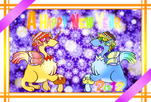 2012 New Year's cards 2 (Hoshiya)