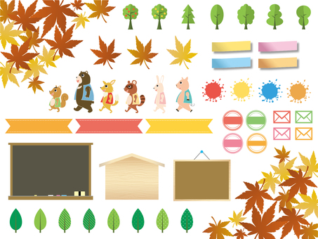Autumn stock set
