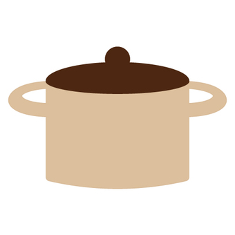 Kitchen equipment (two-handed pot)