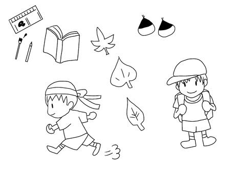 Autumn set / Material ~ Boys ~