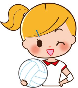 Volleyball girls