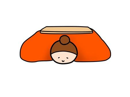 Kotatsu warmth