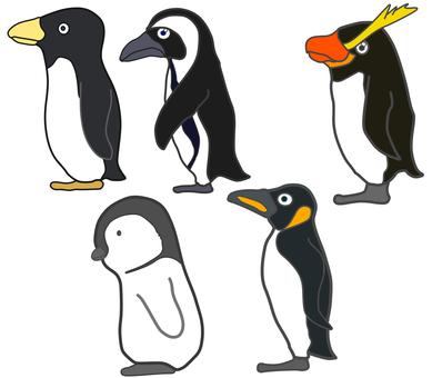 Penguin _ profile _ set