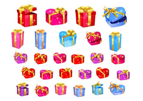 선물 상자 선물 세트
